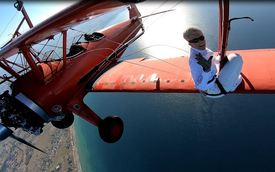 Life Lessons from Wing Walking #11: Be Joyfully Selfish