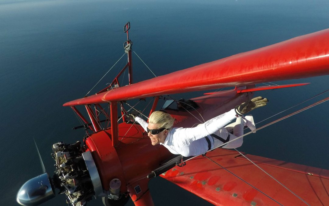 Life Lessons from Wing Walking #7 : LIVE NOW