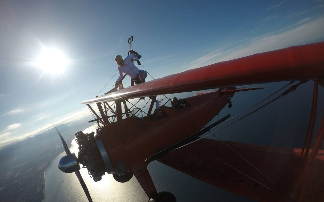 Life Lessons from Wing Walking #9 : Have a Mission That's Worth the Bruises