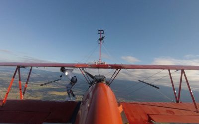 Life Lessons from Wing Walking, #1 : Focus